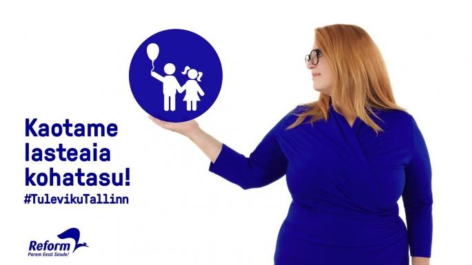 Õnne on lasteaia kohatasu kaotamise eest seisud Tallinnas ja teeb sama Riigikogus.
