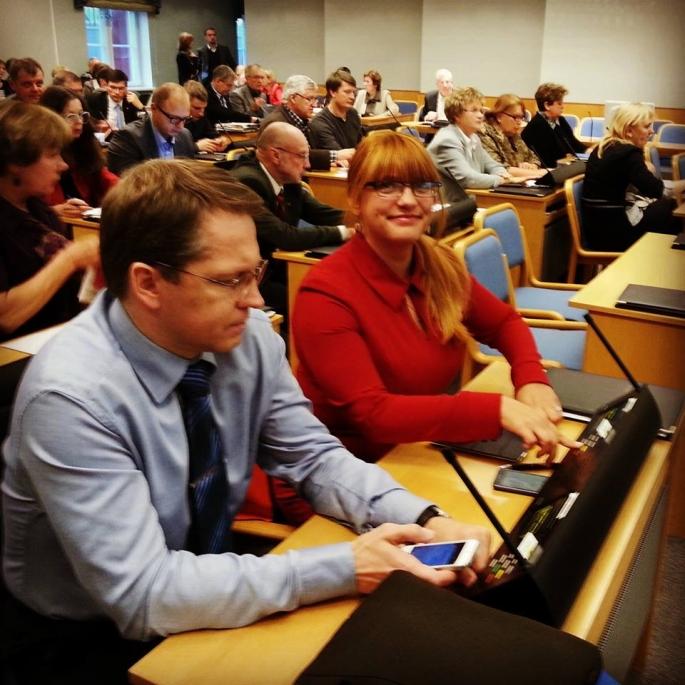 Õnne on Tallinna volikogus usinaim laste ja perede eestkõneleja.